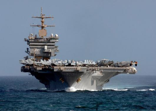 Авианосец USS «Enterprise» (CVN 65) в море