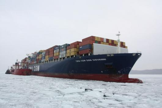 Бункеровка контейнеровоза «CMA CGM Don Giovanni»