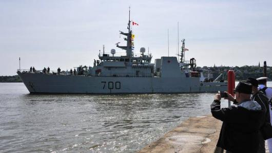 HMCS «Kingston», Квебек