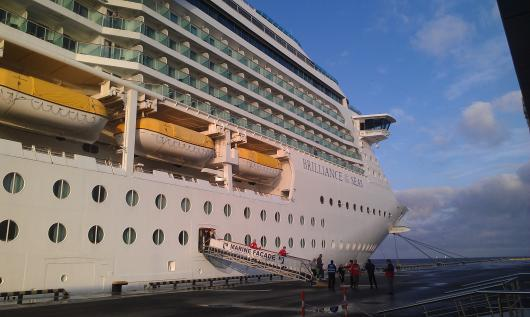 Лайнер «Brilliance of the Seas»