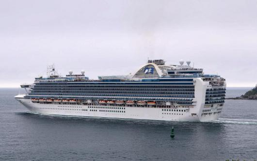Круизный лайнер «Emerald Princess», Сидней
