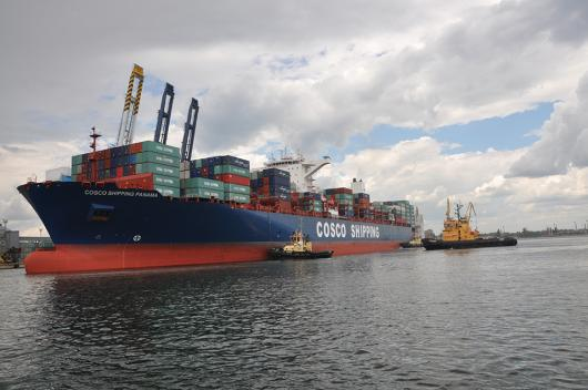 Контейнеровоз «COSCO Shipping Panama», Одесса