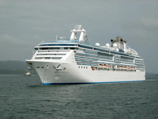 Морской лайнер Princess Cruises