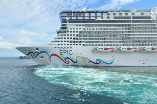 Круизный лайнер «Norwegian Epic»