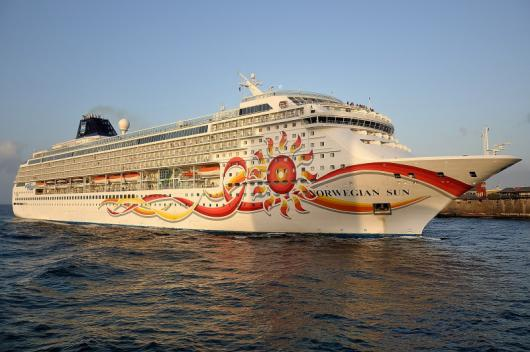 Круизный лайнер «Norwegian Sun», Willemstad