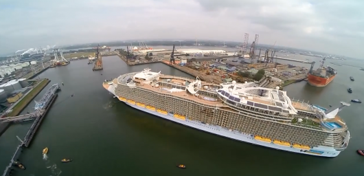 «Oasis of the Seas», верфь Keppel Verolme