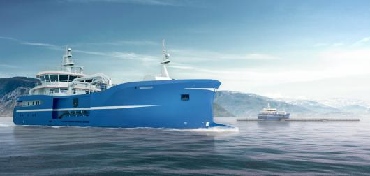 Судно проекта SALT 425 FHV от Salt Ship Design