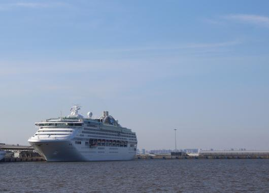 «Sea Princess» прибыл в Санкт-Петербург