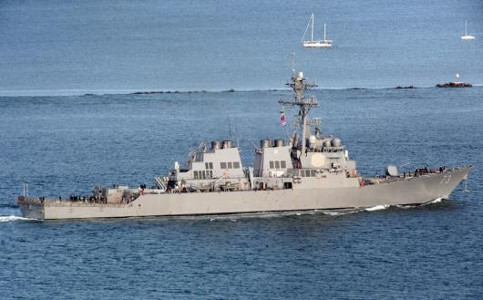 USS «Decatur» (DDG-73) покинул Сан-Диего