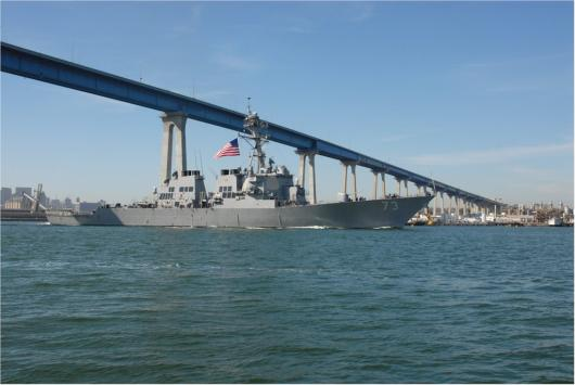 USS «Decatur» (DDG-73), Сан-Диего