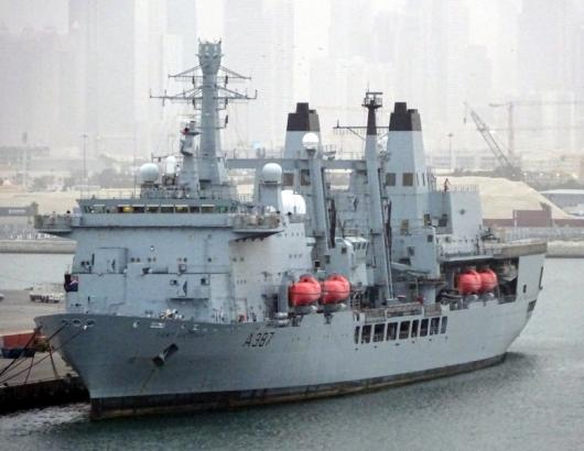 RFA «Fort Victoria» (A387), Дубай