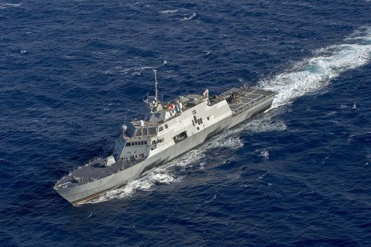 USS «Fort Worth» (LCS 3) в Тихом океане
