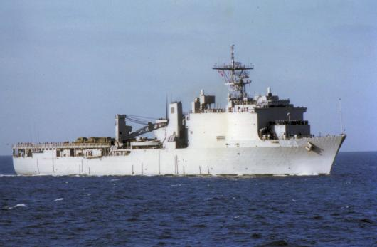 USS «Gunston Hall» (LSD-44), Генуя, Италия