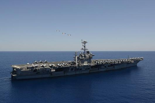USS «Harry S. Truman» (CVN 75) в Средиземном море
