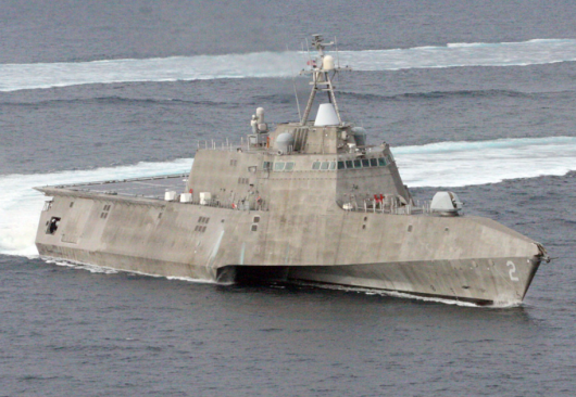 USS «Independence» (LCS-2) на испытаниях