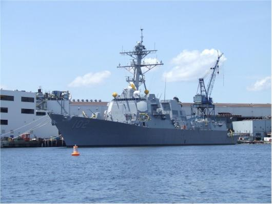 USS «Sampson» (DDG-102) спущен на воду