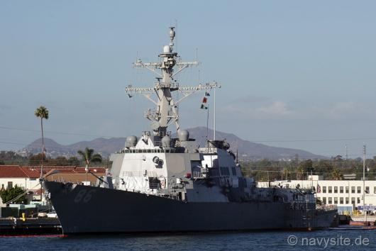 Эсминец USS «Shoup» (DDG 86), Сан-Диего