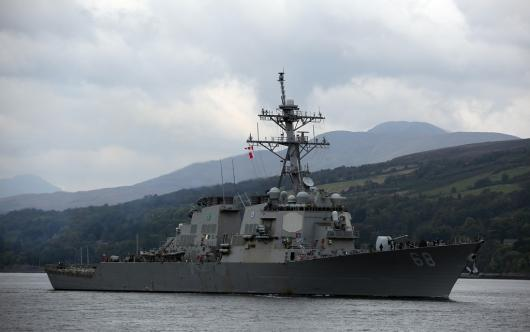 USS «The Sullivans» (DDG-68), Фаслейн