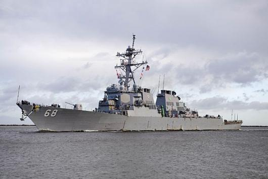 USS «The Sullivans» (DDG-68) прибыл в Мэйпорт