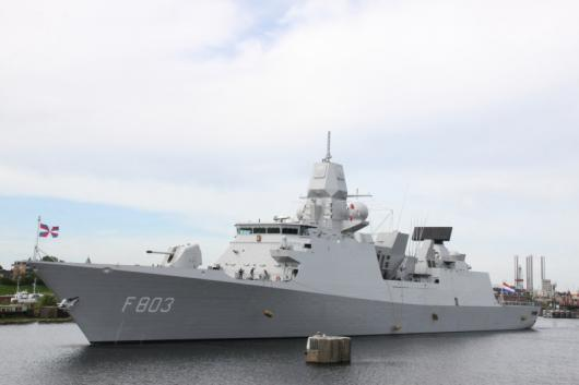 Фрегат HNLMS «Tromp» (F803), Ijmuiden, Нидерланды