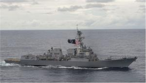 USS «William P. Lawrence» (DDG 110), Тихий океан